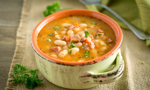 SOUP OF THE MONTH  - Ham & Bean