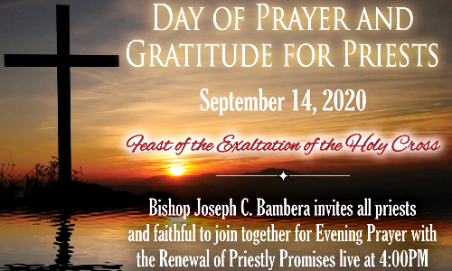 Day of Prayer and Gratitude for Priests
