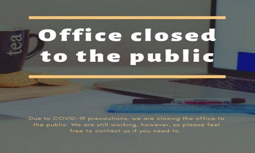 Change to our Office Hours